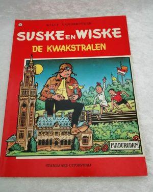 Suske en Wiske. De kwakstralen