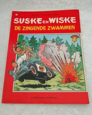 Suske en Wiske. De zingende zwammen