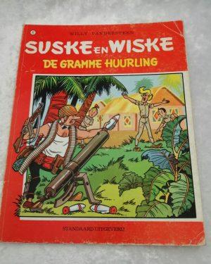 Suske en Wiske. De gramme huurling