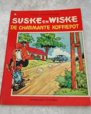 Suske en Wiske. De charmante koffiepot