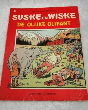 Suske en Wiske. De olijke olifant